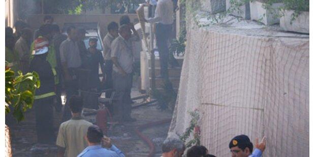 Bomben detonierten auf Uni-Campus