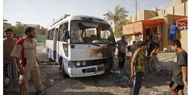 Acht Tote bei Anschlägen in Bagdad
