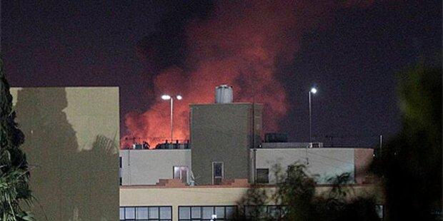 NATO setzt Luftangriffe auf Tripolis fort