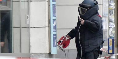 Bomben-Alarm im Innenministerium