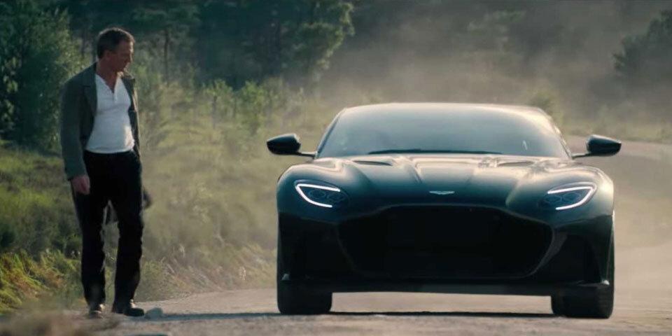 Neuer James Bond Film Spektakulärstes Aston Martin Auto Noch Geheim