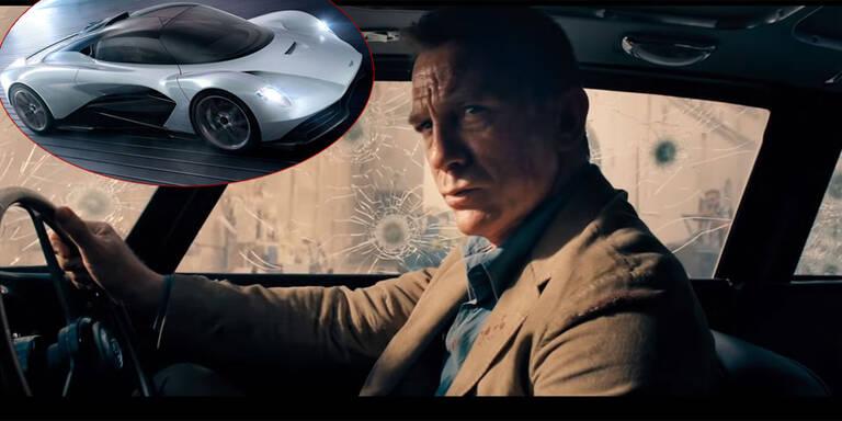 Neuer Bond-Film gleicht Aston-Martin-Festspielen