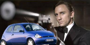 James Bond fährt im nächsten 007-Film Ford Ka