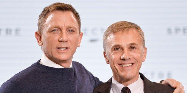 Bond vs. Waltz: Duell der Giganten