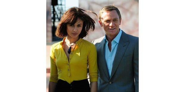 Daniel Craig stellte sich den Fotografen