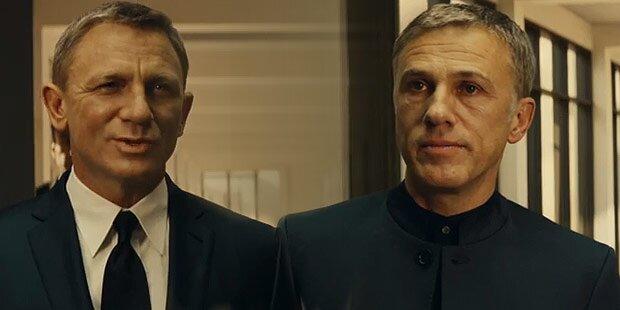 Bond: Waltz und Craig im Duell
