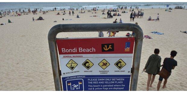 Bondi Beach wegen Hai-Alarms gesperrt