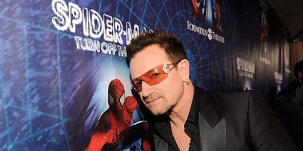 Bono kritisiert eigenes Spiderman-Musical