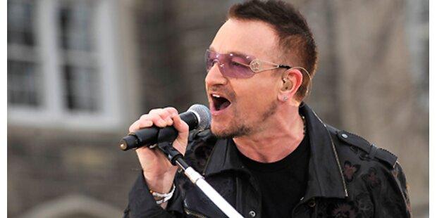 1.000 Euro für U2