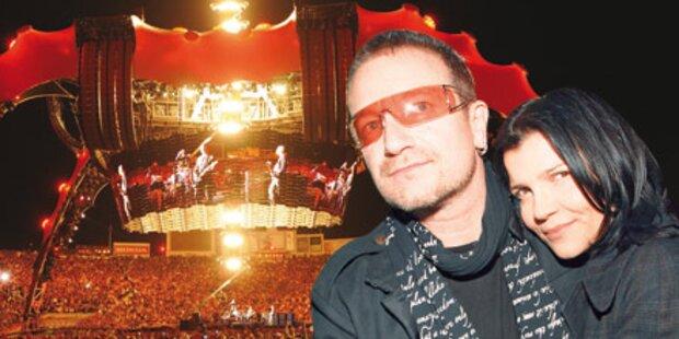 Bono kommt mit Familie nach Wien!