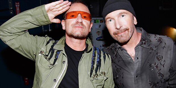U2 erobern Broadway mit Spinnen-Stück