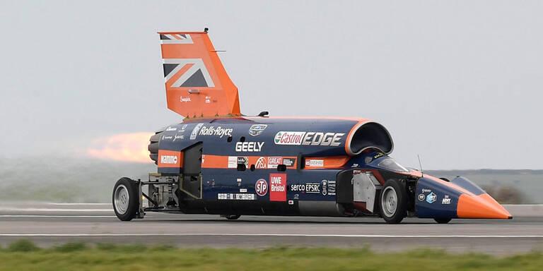 Raketenauto will über 1.600 km/h fahren
