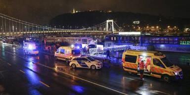 Touristen-Schiff auf Donau in Budapest gekentert – 7 Tote