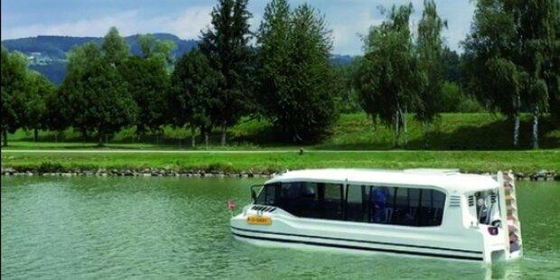 Amphibien-Bus startet diesen Monat