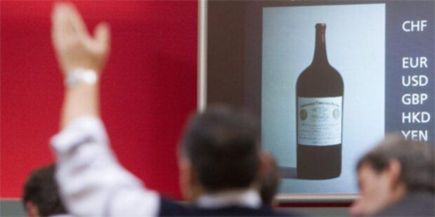 224.000 Euro für eine Flasche Bordeaux