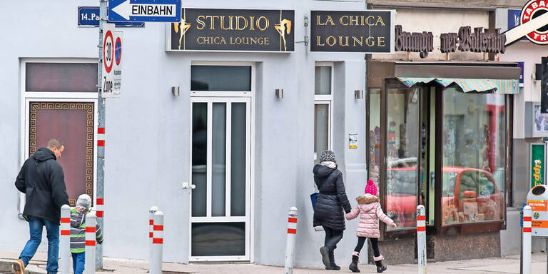 Wiener Skandal-Bordell liegt direkt am Schulweg