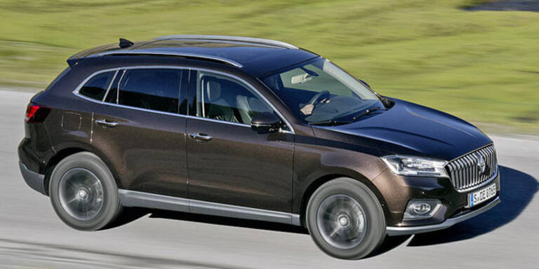 Borgward kehrt mit SUV BX 7 zurück