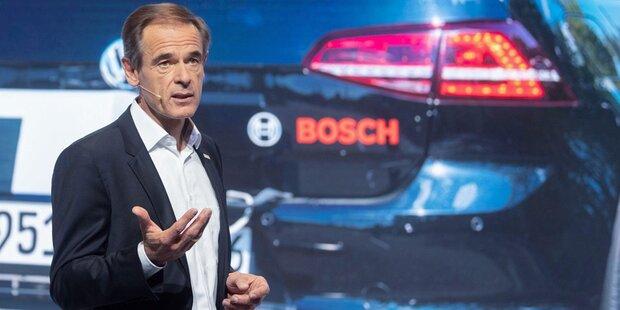 Dieselskandal: 90 Mio. Euro Strafe für Bosch