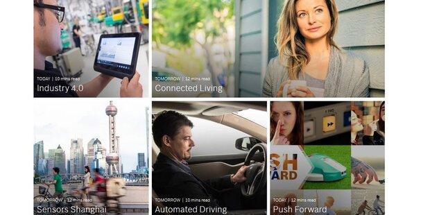 Bosch zeigt, was im IoT möglich ist