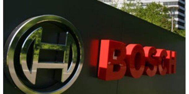 Bosch verordnet 3.500 Mitarbeitern Kurzarbeit