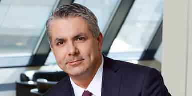 Erste Bank Chef Peter Bosek