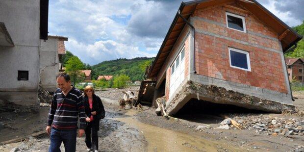 Niederösterreichische Feuerwehr in Bosnien