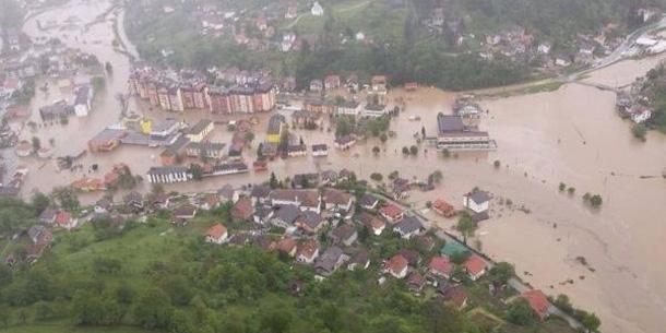 Bosnien Hochwasser