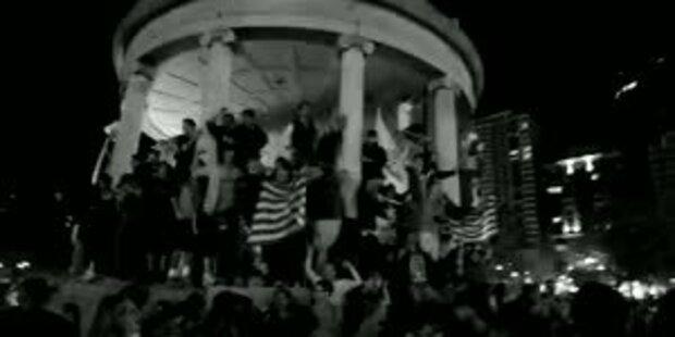 US-Studenten feiern Tod von Bin Laden