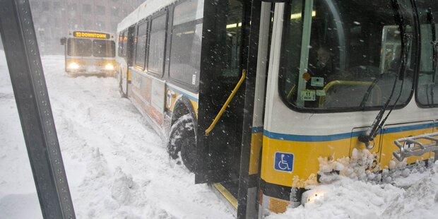 Wintersturm in den USA fordert 11 Tote
