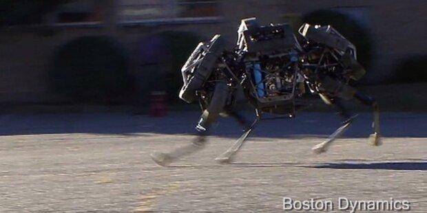Google kauft Entwickler laufender Roboter