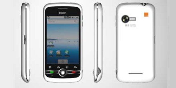 Orange bietet ein eigenes Smartphone an