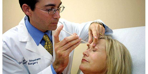 Botox-Behandlungen voll im Trend