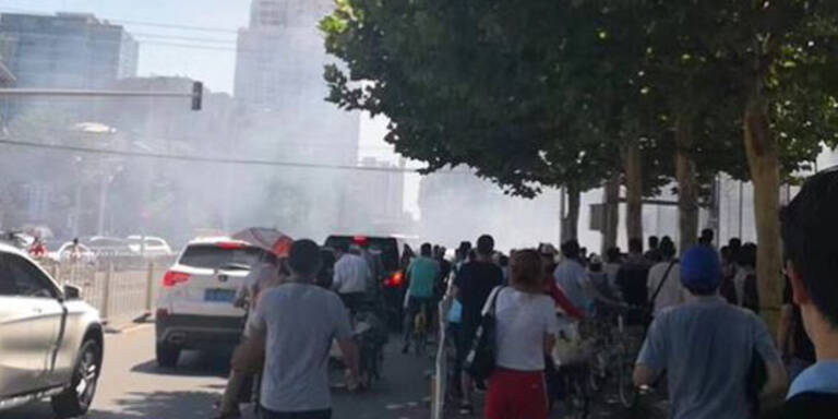 Explosion bei US-Botschaft in Peking