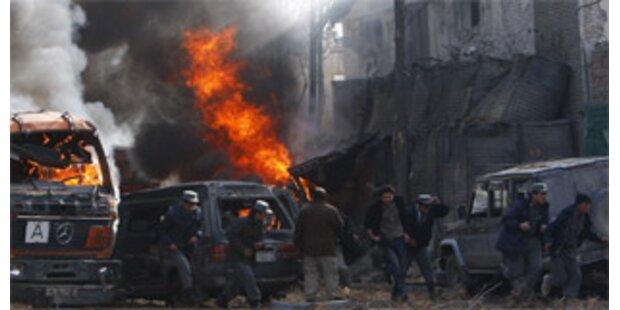Tote bei Anschlag vor Deutscher Botschaft in Kabul