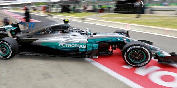 Silverstone: Bottas bremst Hamilton aus