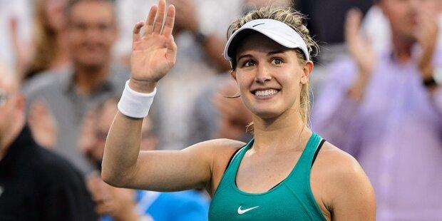 Fan gewann Date mit Tennis-Beauty