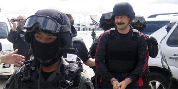 Waffenhändler Bout in USA angekommen