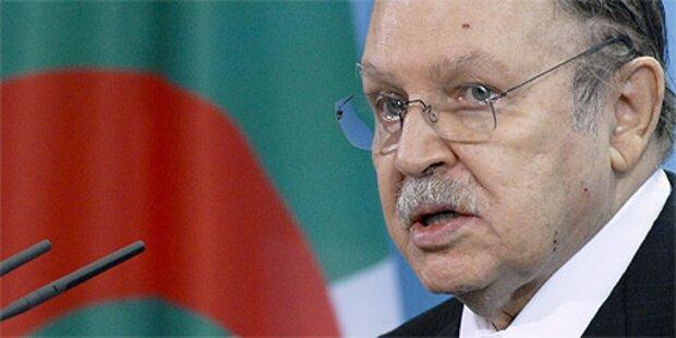 Algerien: Präsident verspricht Ende des Ausnahmezustands