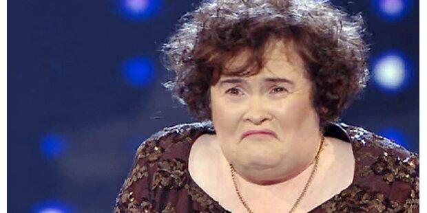 Kultstar Susan Boyle verließ Klinik