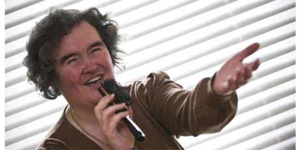 Susan Boyle landete auf dem 2. Platz