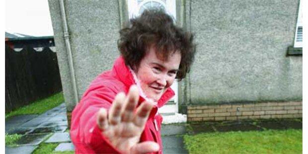 Susan Boyle nach Zusammenbruch in Klinik