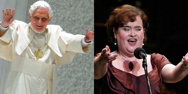 Susan Boyle soll für Papst singen