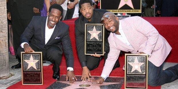 Boyz II Men erhalten Stern