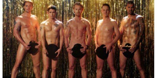 Boyzone: Comeback mit viel nackter Haut