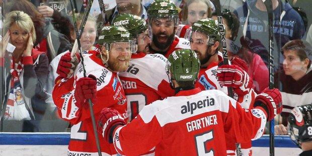 Eishockey-Finale: Bozen schockt Salzburg