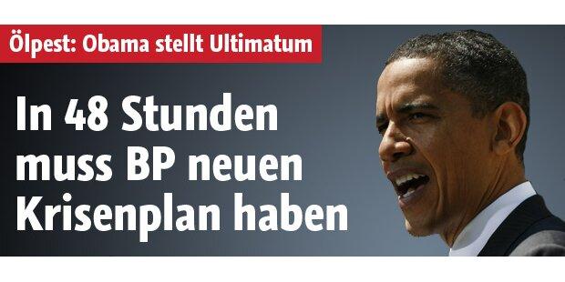 Ultimatum: BP braucht neuen Krisenplan