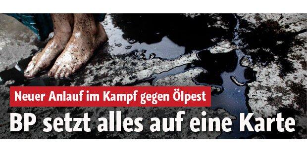Ölpest: BP riskiert jetzt alles