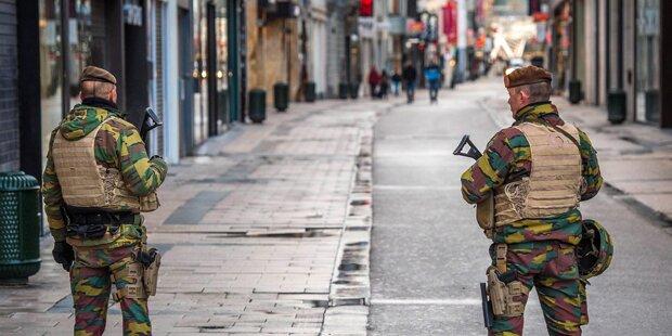 Brüssel: Polizei sucht zwei Terroristen