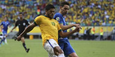 4:2-Fußballfestival bei Brasilien-Italien