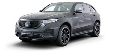 Mehr Leistung für Elektro-SUV von Mercedes